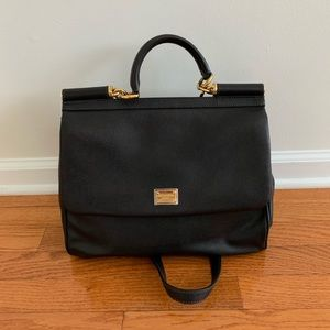 Dolge & Gabbana Black Crossbody Bags Size:O.S.